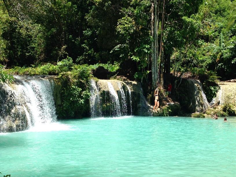 Cambuguhay Falls Siquijor Philippines